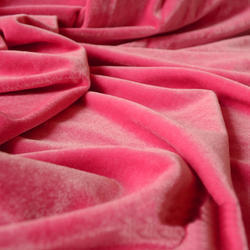 Nylon Velvet Plain Fabric