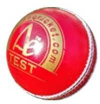 cricket test ball