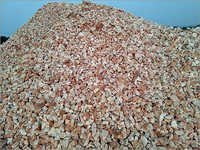 Red White Quartz Chips