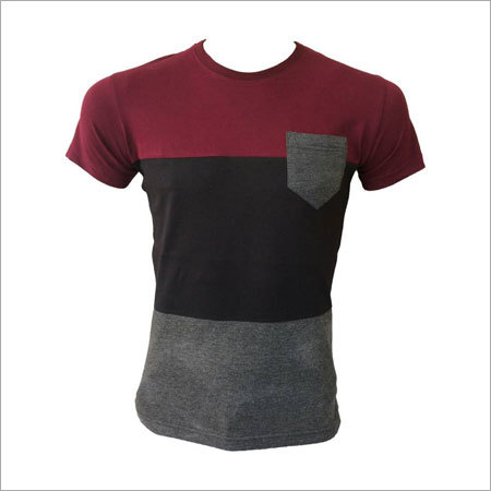 Customized Mens Round Neck T-Shirts