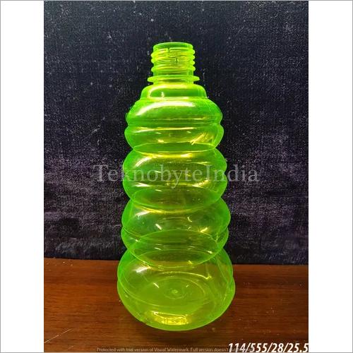 Green Plastic Bottle