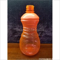 Orange Plastic Bottle