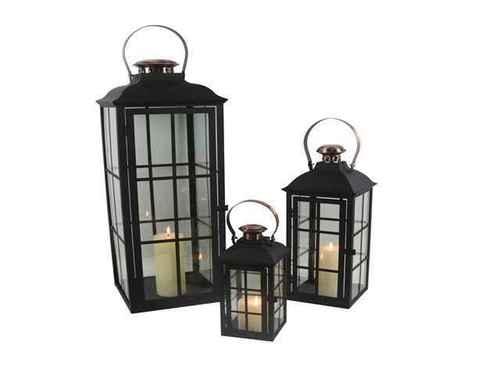 Wrought Iron Hanging Lantern