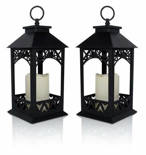 Black Decorative Outdoor Lantern