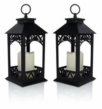 Black Decorative Outdoor Lantern