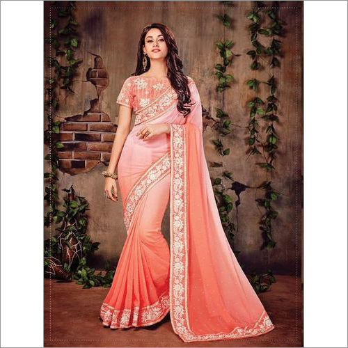 Embroidered Sarees Indian