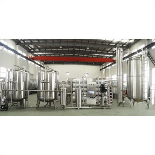 Turnkey Project Mineral Water Plant