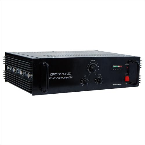 PA-300 Mono Dj Amplifiers
