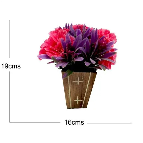 Artificial Carnation Flower Arrangement