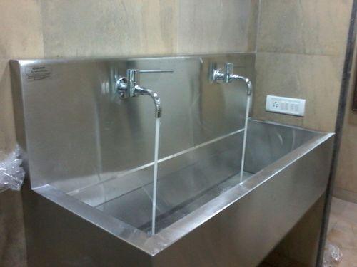 SS Double Scrub Sink