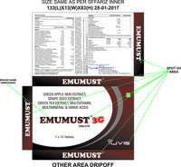 Multi Vit + Multi Minerals + 3G Formula tablets