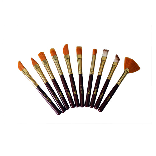 Cute Hobby Set Artist Paint Brushes