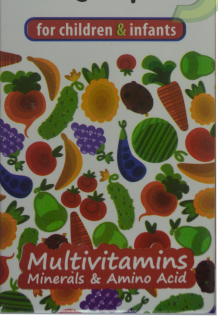 MultiVitamin Multimineral with Amino Acid Syrup