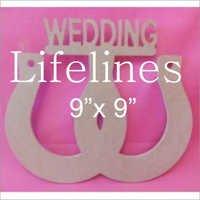 MDF Wedding Cutout