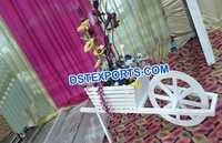 Indian Wedding Entrance Decor Rehra