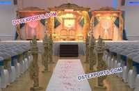 Indian Wedding Mandap Wooden Design