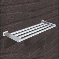 Wall Mounted Brass Towel Rack