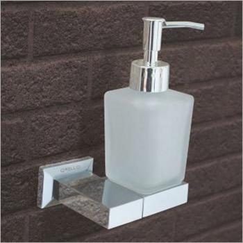 Brass Foam Soap Dispenser With Holder