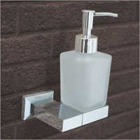 Brass Foam Soap Dispenser With Holder