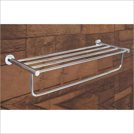 CP Finish Bathroom Towel Rack