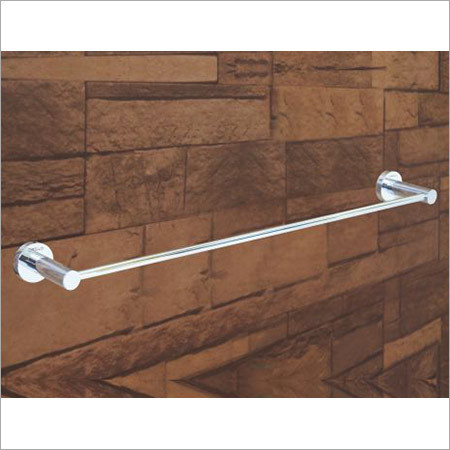 CP Finish Brass Towel Rod (24 inch)
