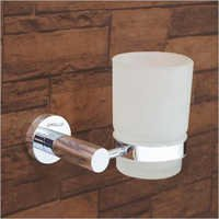 Brass Toothbrush Cup Holder