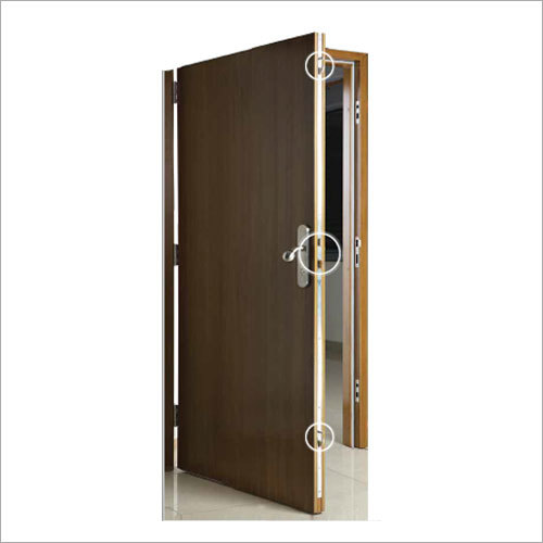 Wooden Lock System Residential Door