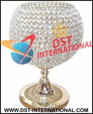 Crystal Globe Centerpiece