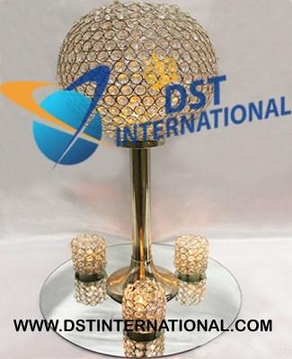 Crystal Ball Tall Centerpiece