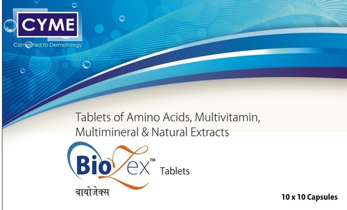 Multivitamin Multimineral And Antioxidant With Amino Acid Tablets