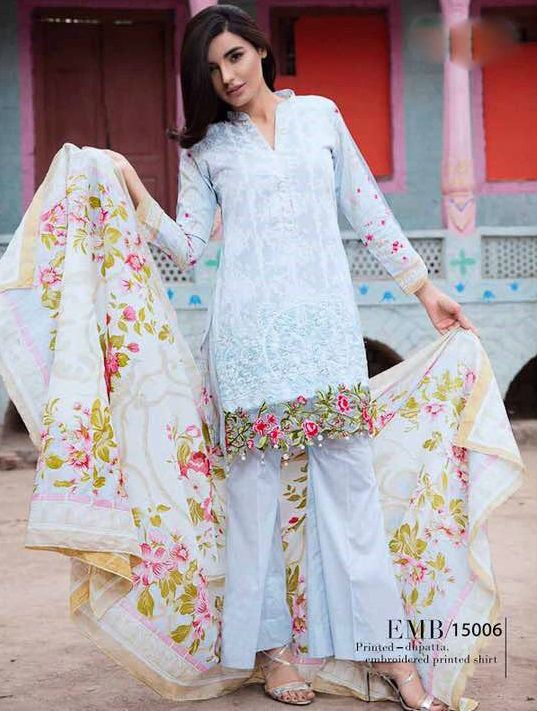 Pakistani Cotton Salwar Kameez
