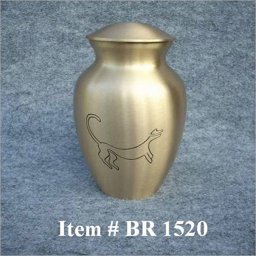 Brass Keepsake Urns