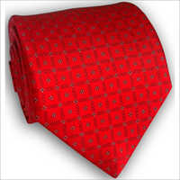 Red Silk Ties