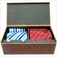 Red And Blue Tie Set