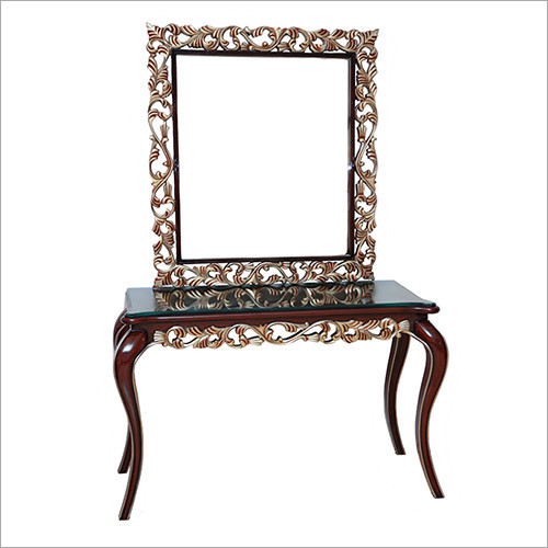 Carving Console with Oriental leg