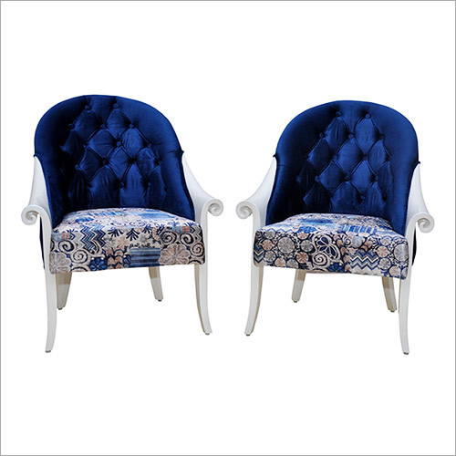Metallic Pearl Bed Room Chairs