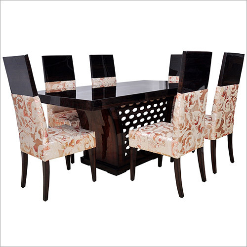Jali Dining with Ash Veneer (6+1)