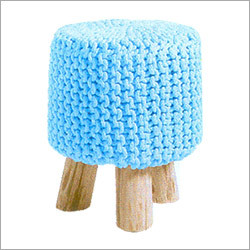 Knitted Pouff
