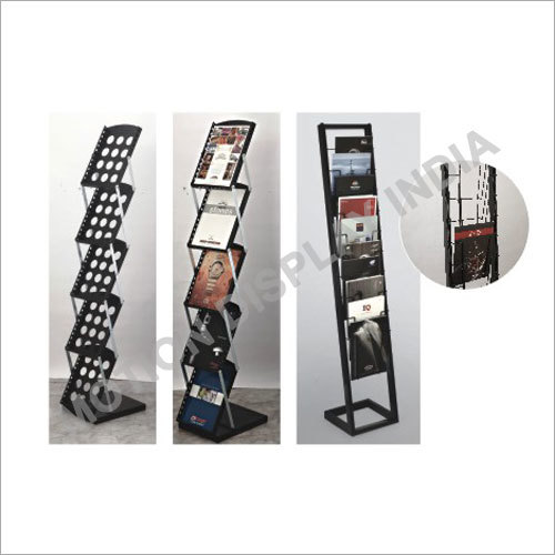 CS-502 Metal Body Catalogue Stand