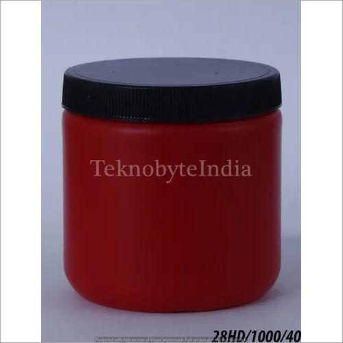 Empty Supplement Jar