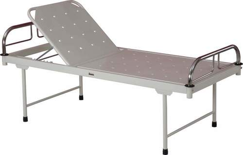 Hospital Bed with manual Back Rest
