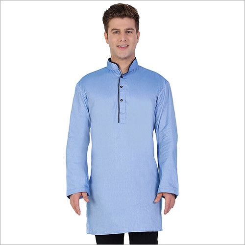 Veera Paridhaan Men's Sky Blue Kurta