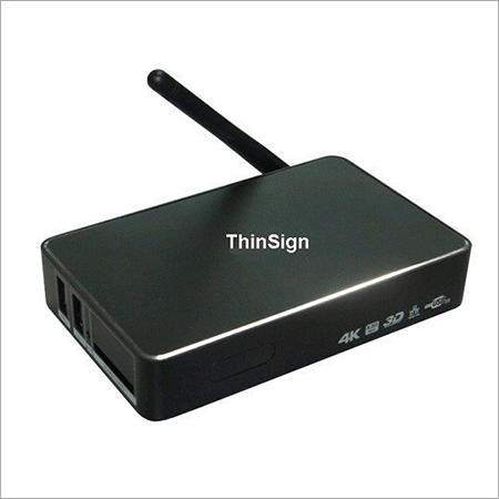 Digital Signage(TV Player) with Live TV