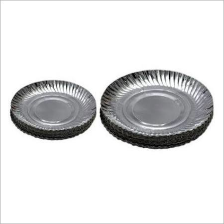 Silver Laminated Paper Plates 7 & 8