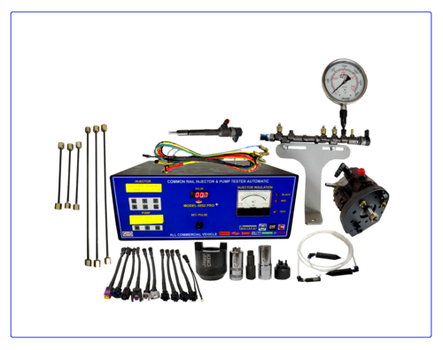 Automatic Common Rail Injector And Pump Tester