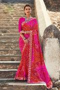 Online Shopping Of Bandhani Saree