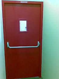 Emergency Doors For Clean Rooms