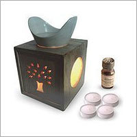 Diffuser With 4 Tealights & Diffuser
