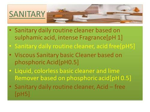 Personal and home care chemical
