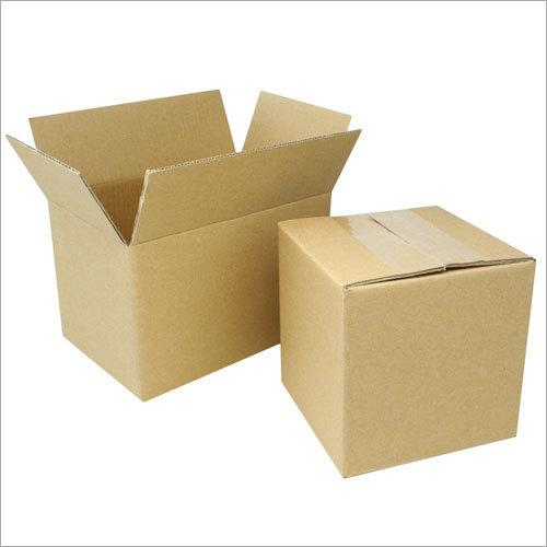 波纹状的包装的箱子